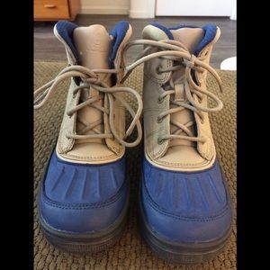Nike Woodside  BootsBlue Khaki Anthracite3  $85